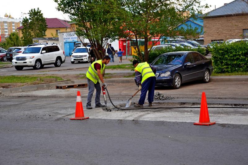 Столичная общественность вынудила подрядчика устранить брак при ремонте дорог