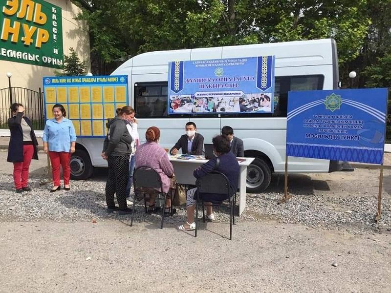 Сайрам ауданында 7 мыңнан астам тұрғын «Еңбек» мемлекеттік бағдарламасы аясында жұмыспен қамтылмақ