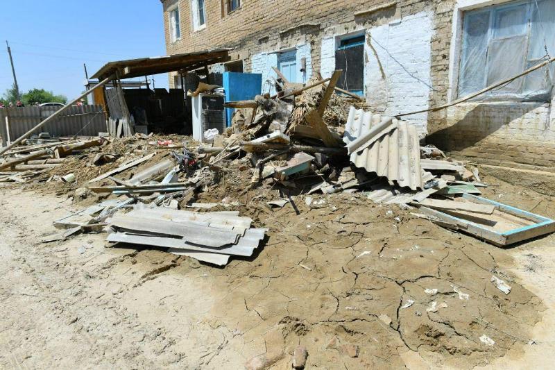 Оставшихся без крова 28 мактааральских семей обеспечат жильем