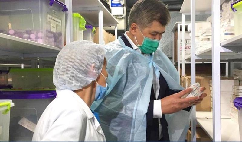 Выпускать 100 тысяч наборов реагентов в сутки для диагностики коронавируса готова казахстанская компания