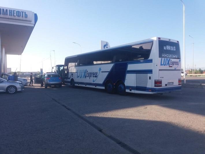 Автобус с пассажирами в Туркестане пытался незаконно выехать в Алматы