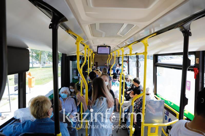 В Атырау с 25 мая движение автобусов полностью возобновится