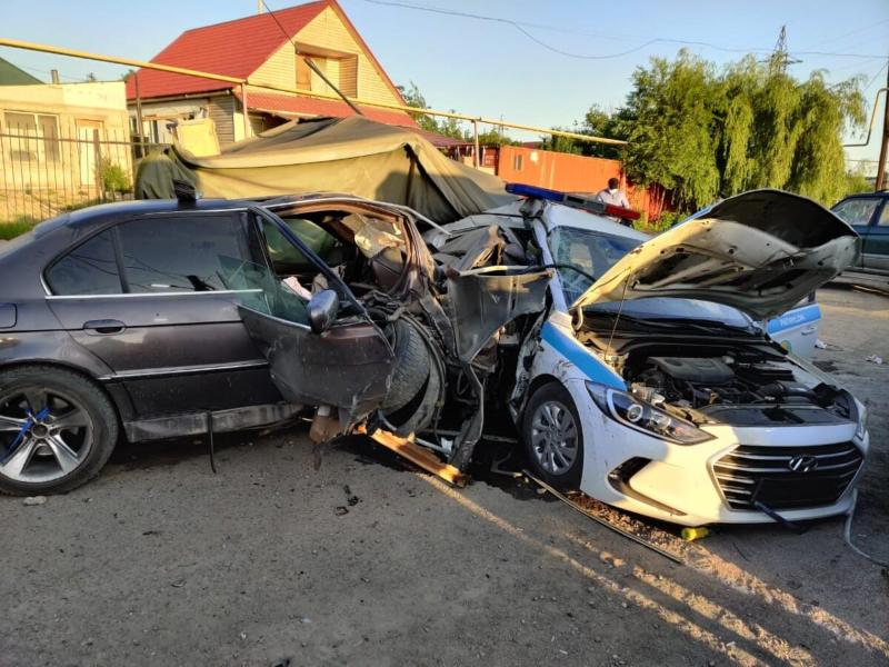 Алматыдағы блокпоста көлік апаты болып, полицей көз жұмды
