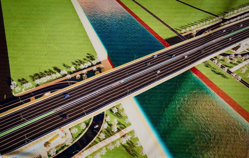 Движение на двух новых мостах откроют в Нур-Султане в этом году