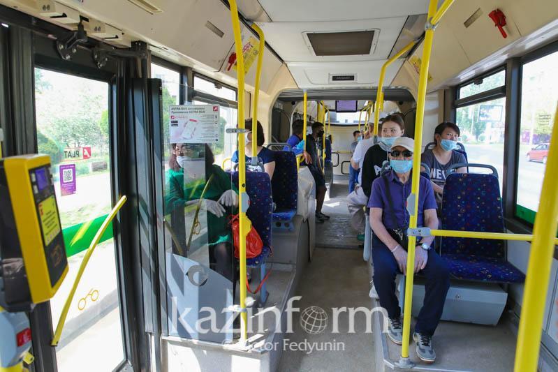 Пассажиры без масок не смогут воспользоваться общественным транспортомв СКО
