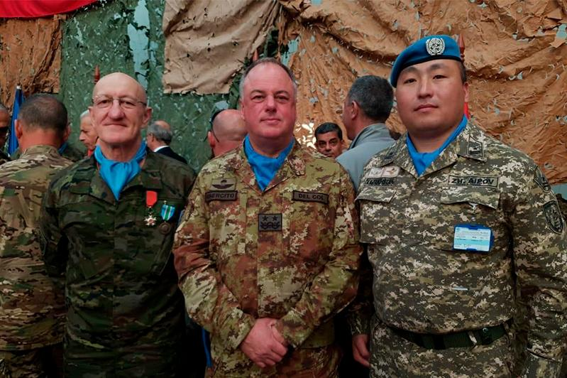 Казахстанские миротворцы успешно выполняют миссию в Ливане - майор Жигер Аипов