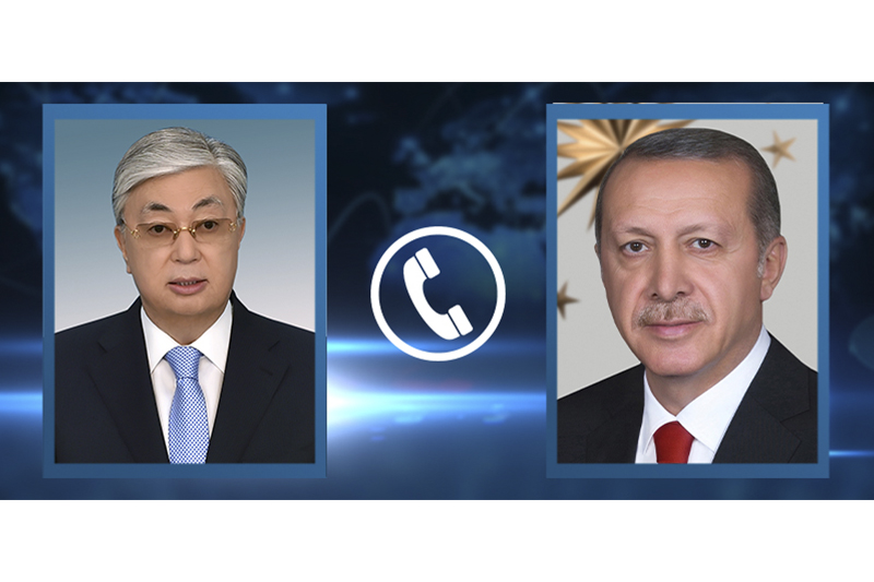 Qasym-Jomart Toqaev Túrkııa Prezıdentimen telefon arqyly sóılesti
