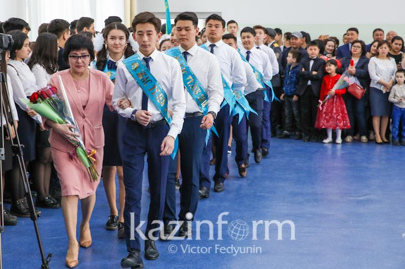 Ақмола облысында оқу жылын 128 мың оқушы бітірді