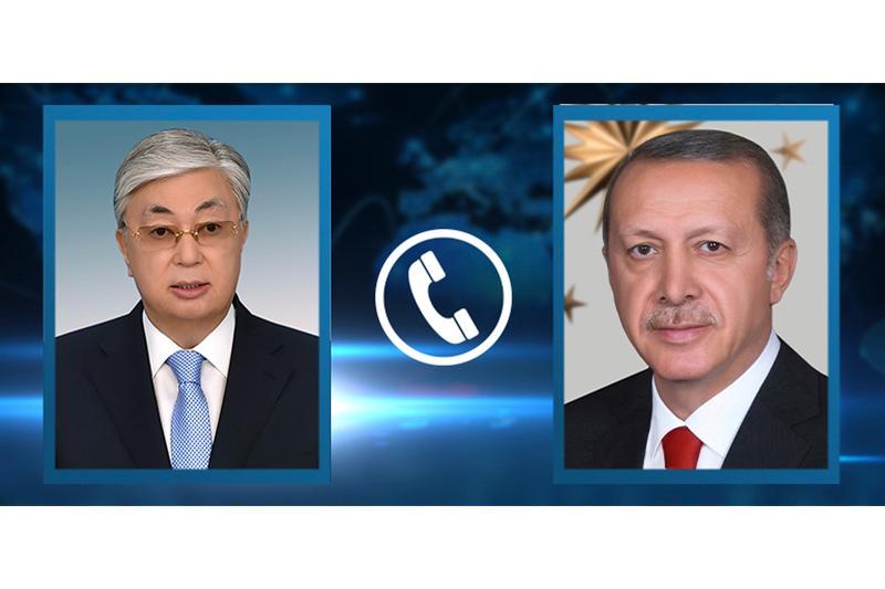 Қасим-Жомарт Тоқаев Туркия Президенти билан телефон орқали суҳбатлашди