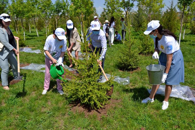 Сад памяти «Жеңіс бағы» появился в Нур-Султане