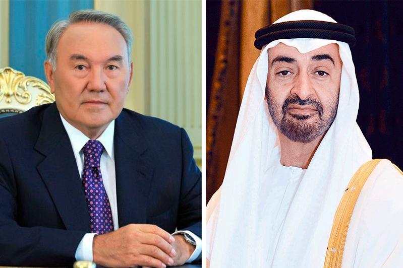 Elbasy, Sheikh Mohammed bin Zayed Al Nahyan hold telephone conversation