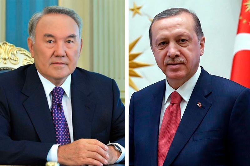 Нурсултон Назарбоев Туркия Президенти билан телефон орқали сўзлашди