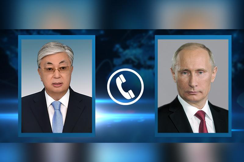 Касым-Жомарт Токаев принял приглашение Владимира Путина на Парад Победы 24 июня в Москве