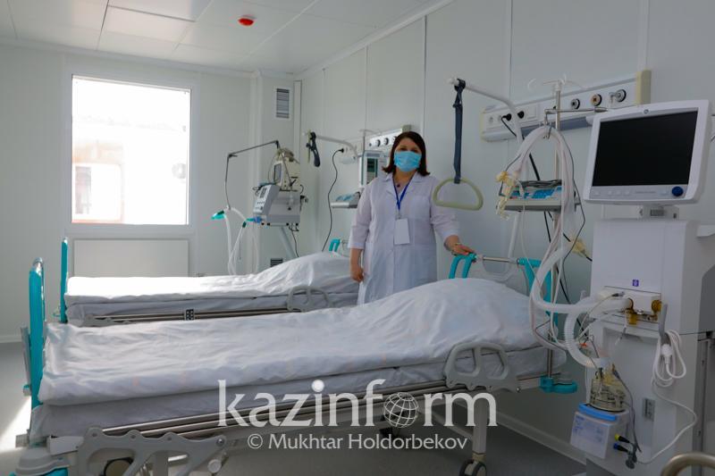 540 мест для пациентов с коронавирусом организовано в больницах Атырауской области