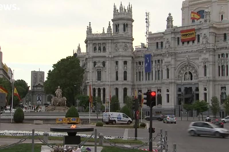 西班牙为新冠肺炎逝者哀悼10天