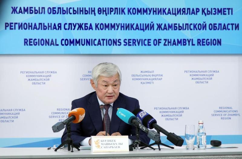 Бердібек Сапарбаев Қордайдағы қоғамдық-саяси ахуал туралы айтты