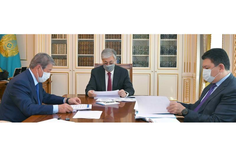 ҚР Президенти «Самруқ-Қазна» раҳбарини қабул қилди