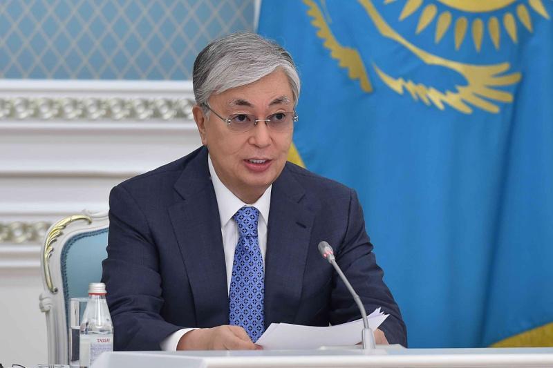 托卡耶夫总统出席联合国新冠疫情发展筹资高级别会议