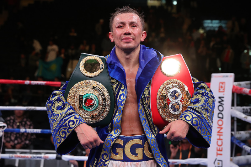 The Ring ratings update: Gennady Golovkin No1 middleweight ranking