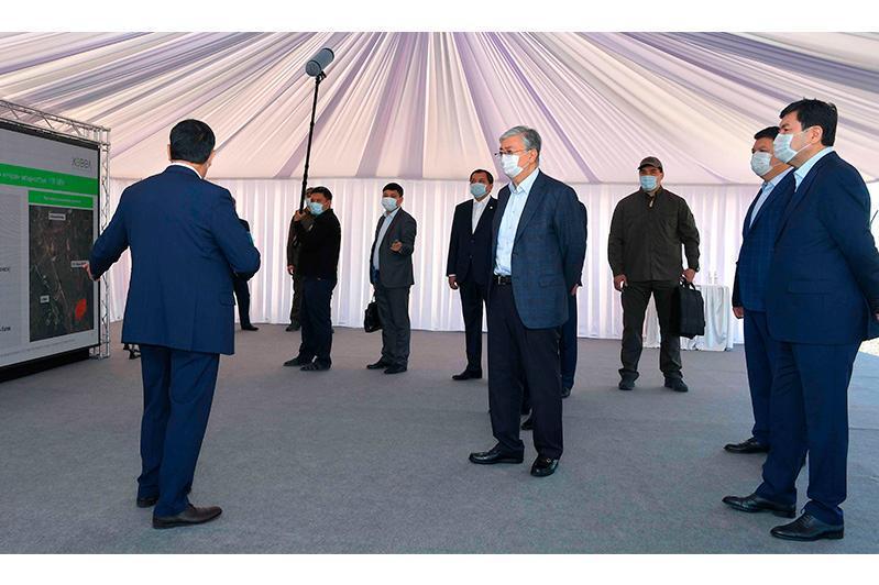 ҚР Президенти Ақмола вилоятидаги Қуёш электр станцияси фаолияти билан танишди