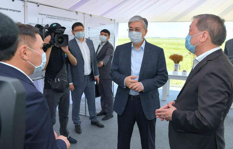 ҚР Президентінің Ақмола облысына сапарынан бейне шолу жарияланды