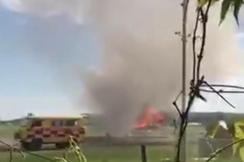 Загорелся самолет Ан-2 по маршруту Семей - Урджар