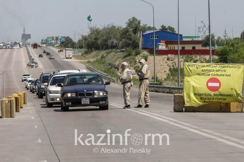 Последний день работы блокпостов Алматы: как это было