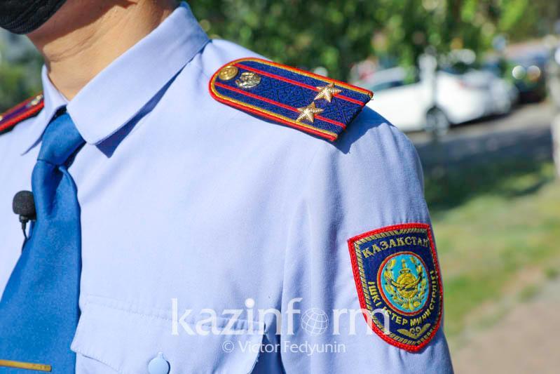 Көкжайлауда джиппен жүрген полицейлерге қатысты департамент түсінік берді