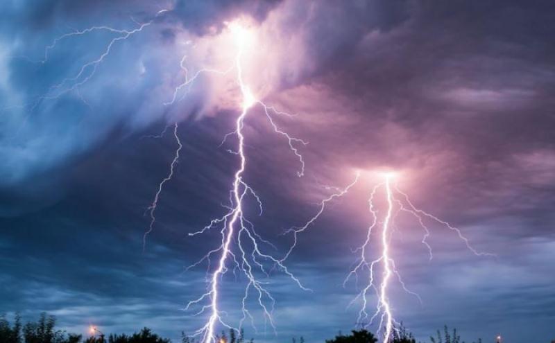 Штормовое предупреждение объявлено в четырех областях Казахстана