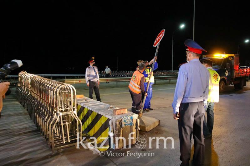 В Нур-Султане сняты блокпосты