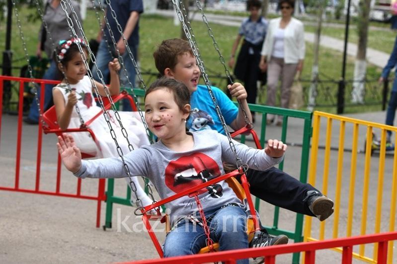 Международный день защиты детей празднуютв Казахстане