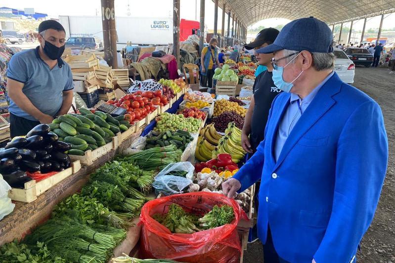 Бердібек Сапарбаев базарларда санитарлық талаптарды қатаң сақтауды талап етті