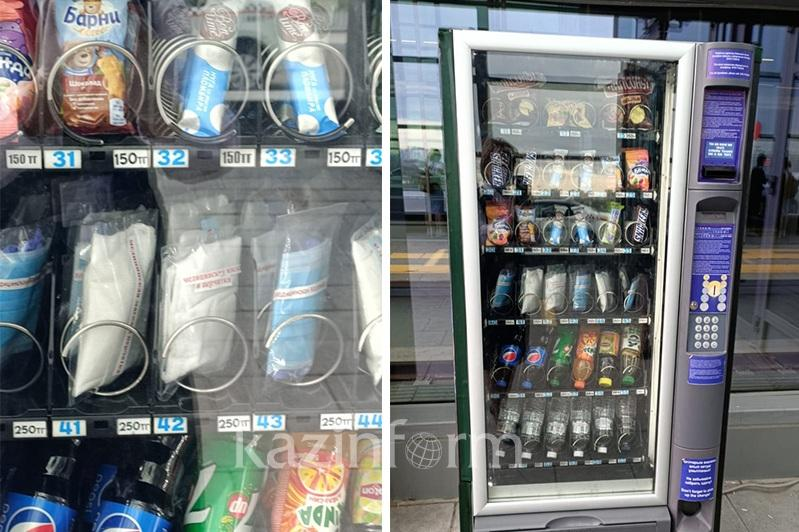 Купить маски смогут пассажиры на столичном вокзале Нурлы жол