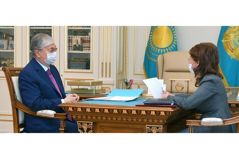 ҚР Президенті Ақпарат және қоғамдық даму министрі Аида Балаеваны қабылдады