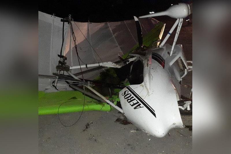 Man injured in hand gliding accident in Almaty region