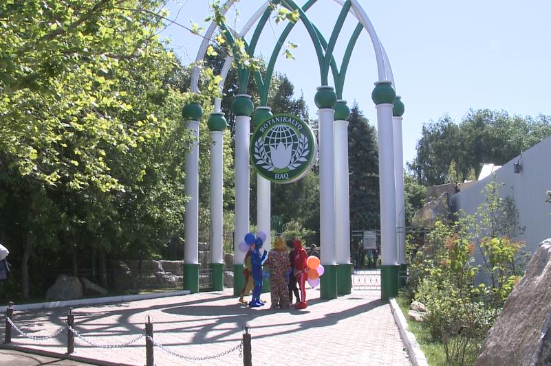 Ботанический сад с вековой историей открылся после ремонта в Петропавловске
