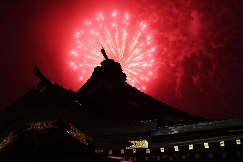Japan skies lit up with fireworks to brighten mood amid coronavirus