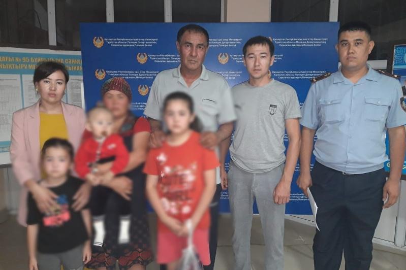 Пропавших девочек нашлив Туркестанской области