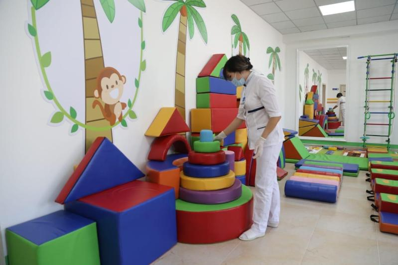 Rehabilitation centre for kids with cerebral palsy unveils in Kazakhstan