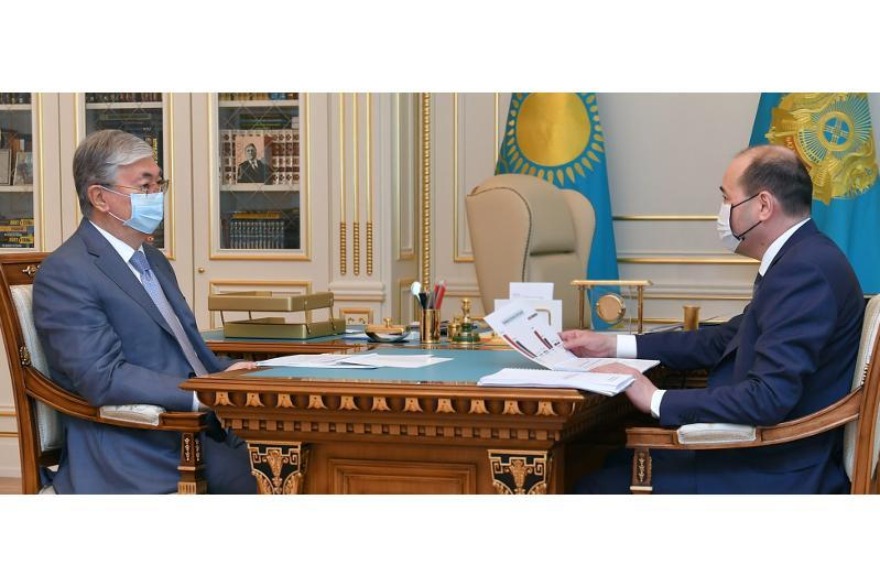 Head of State receives Kazakh Prosecutor General