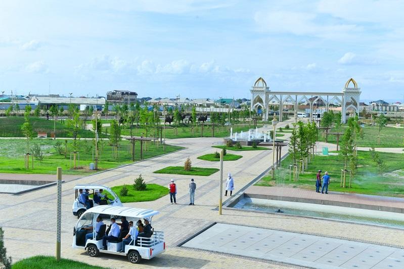 Какие объекты возобновили работу в Туркестанской области