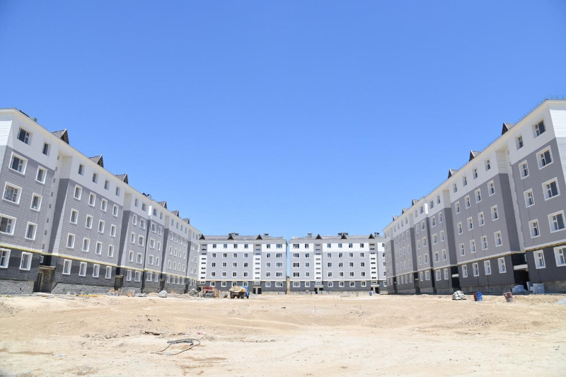 Один миллион квадратных метров жилья строится в Шымкенте