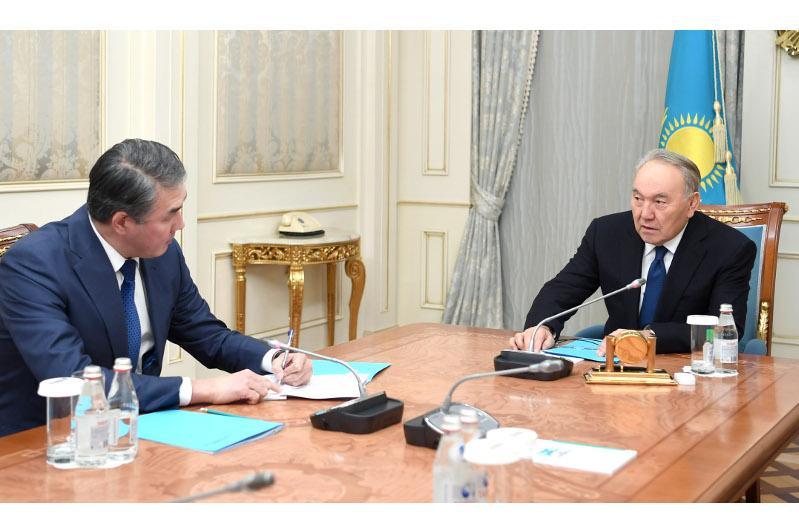 Nursultan Nazarbayev receives Presidential Aide
