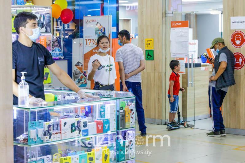 Нарушения в крупном торговом доме выявили в Алматы