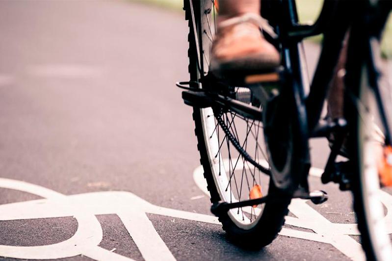 Велосипедистка пострадала в аварии в Петропавловске