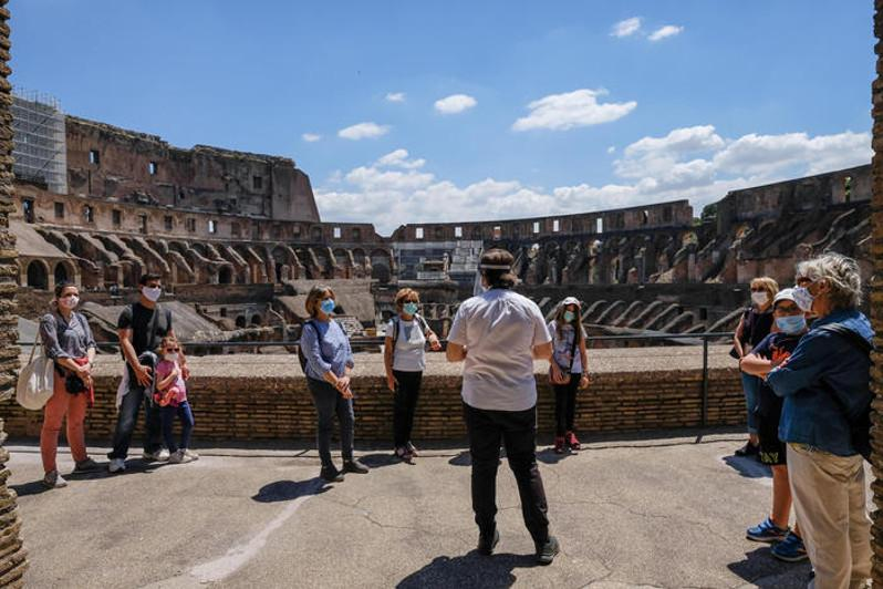 ANSA: Colosseum reopens in 'sign of hope and rebirth' in Italy