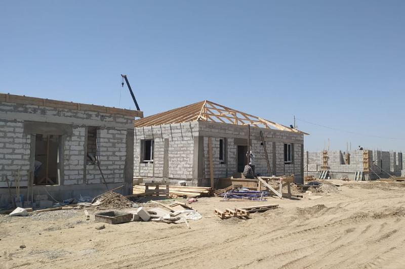 383 houses being built for residents of flood-hit Maktaaral
