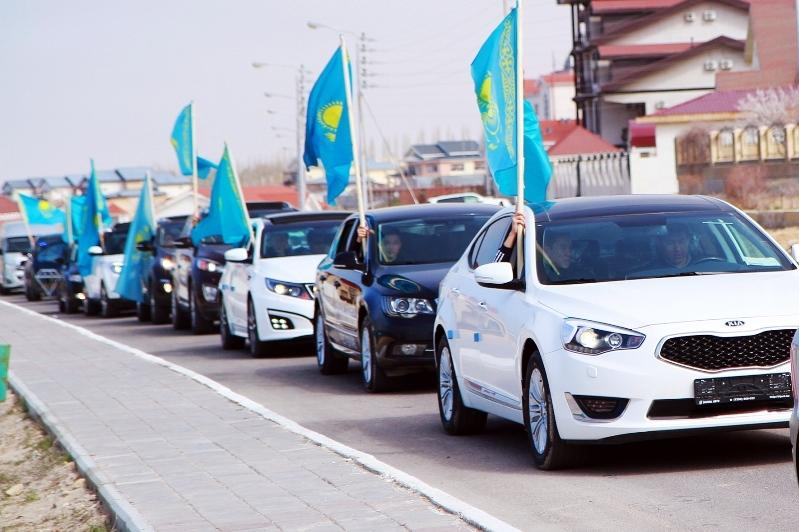 Nur-Sultan to host car rally in honor of State Symbols Day