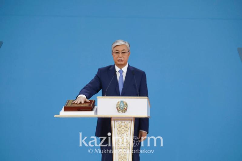 哈萨克斯坦总统托卡耶夫执政一年