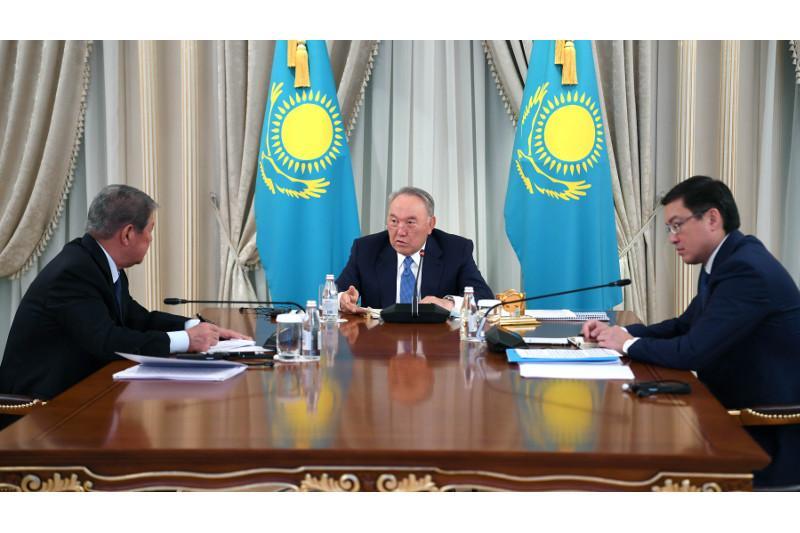 Nursultan Nazarbaev «QazMunaıGazdy» qaıta qurýdy tapsyrdy